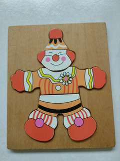Wooden Clown Puzzles (Bought in Australia)