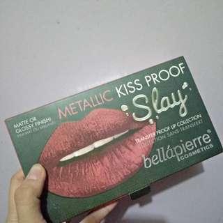 Metallic kissproof