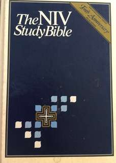 NIV Zondervan Study Bible (Hard Cover)