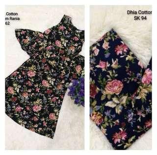 Baju Kurung Cotton dan Peplum Rania