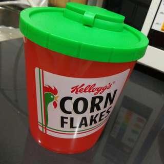 Corn flakes tupperware