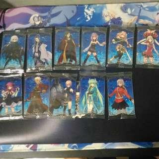 Fate Grand Order Wafer Card Vol.1