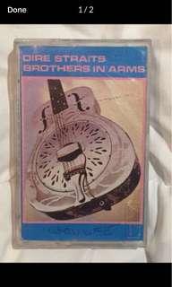 Dire Straits Cassette Tape