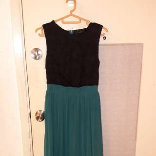 Green Long Prom Dress from MAG