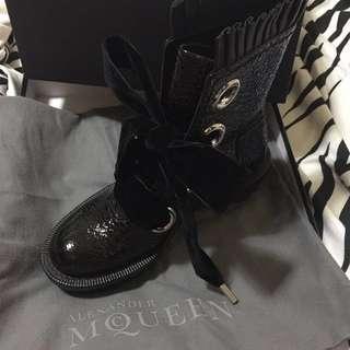 🈹️$2800 Alexander Mcqueen boots 短靴