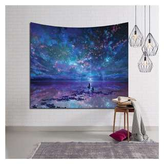 Wall Decor Tapestry Starry Night