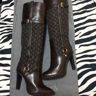 🈹️$3800 LV leather boots 真皮長靴