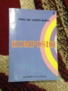 Komposisi by Prof. Dr. Gorys Keraf