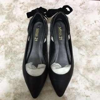 🚚 Miss21黑色平底鞋