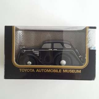 Toyota Automobile Museum Pull back car Collectible