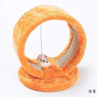 🚚 #A1新款小型貓窩貓爬架貓樹貓跳台貓抓板逗鼠貓玩具