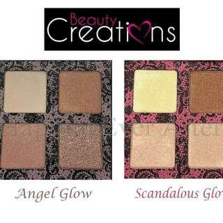 Beauty creation highlighter angel glow
