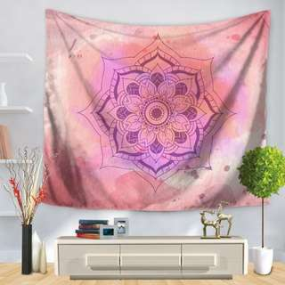 Tapestry Mandala Wall Hanging Decor or Beach Mat