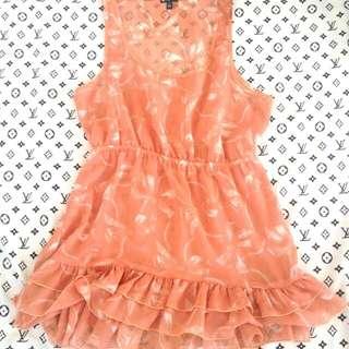 Like new! Sheer top or dress
