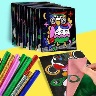 Magic Sticker Art Painting/Children Handmade DIY