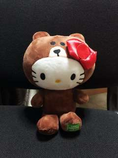 LINE x Hello Kitty Collection (Kitty in Brown Suit)