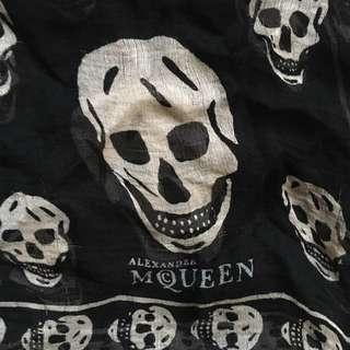 Alexander McQueen Scarf in Black