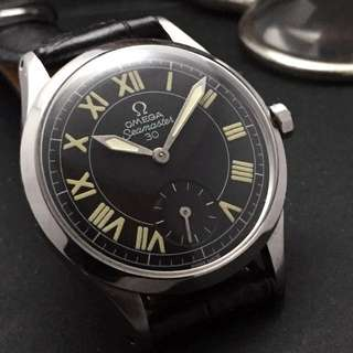 FOR SALE- 35mm Omega with 6 O'clock Seconds Sub-dial