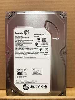 Seagate 500GB SATA slim 3.5 inch