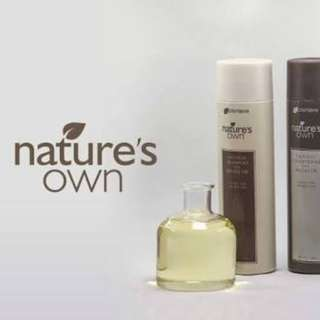 Natures own shampoo and. Conditioner