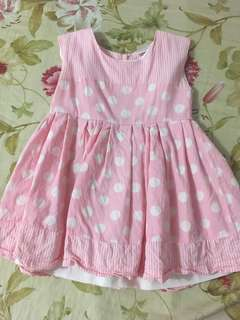Pink Casual Dress