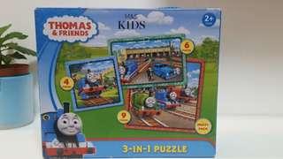 Thomas puzzle 砌圖