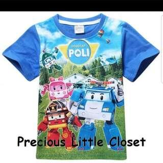 Robocar Poli Tshirt