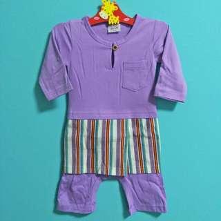 Sale! 3-6m Baju Melayu Romper