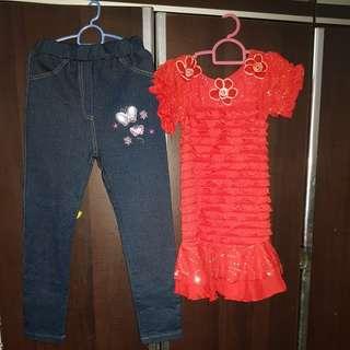 kids pants & dress(girl)