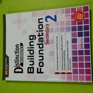 Distinction Mathematics -Building Foundation (Secondary 2)