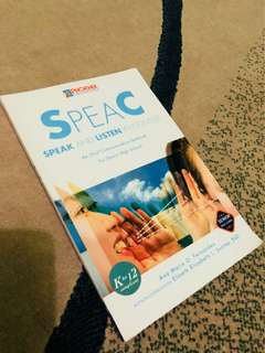 Oral communication book