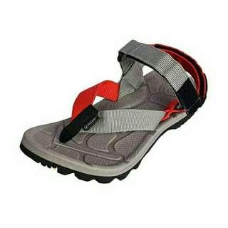 Sandal Gunung Suzuran Extreme x Mr2 grey w grey red