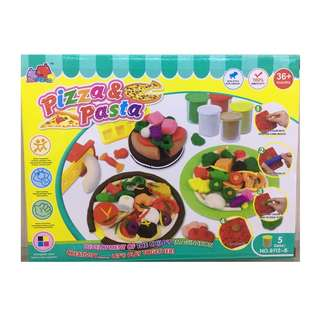 PIZZA & PASTA PLAY DOUGH SET