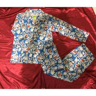 Baju Doraemon Panjang