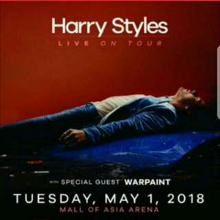 1 Gold Ticket to Harry Styles Live in Manila