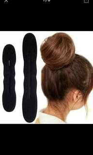 Hairstyling foam bun clip for Japanese bun (set of 2)