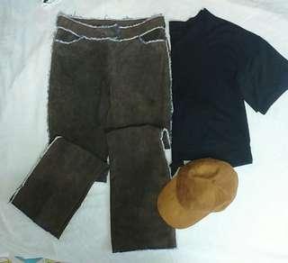 Preloved Ladies Leather Pants