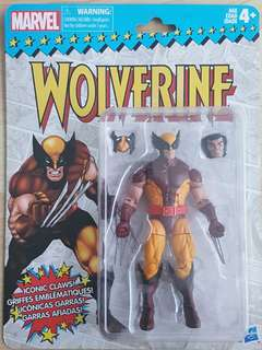 Marvel Legends Retro Wolverine Brand New and Sealed