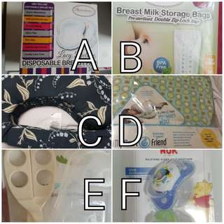 Pregnancy/Baby related items