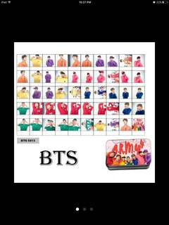 Bts 4 th muster lomocard