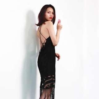 Bareback dress