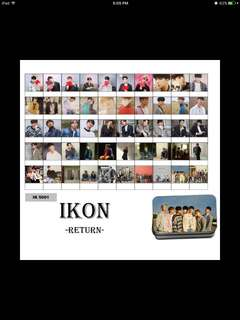 Ikon return lomocard