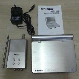 Shinco Portable DVD, TV & CD Player.