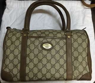 Authentic Vintage Gucci Boston