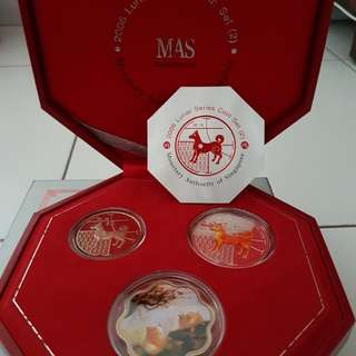 2006 Year of Dog Lunar New Year coin collections