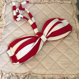 Candy striped 2 pc bikini