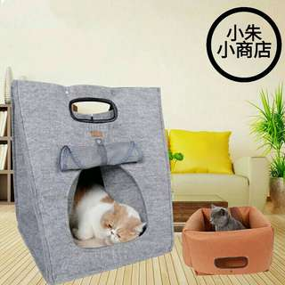 Muti-function small cat dog pet puppy carrier bag bed cave house foldeble portable high quality cat dog small pet under 5kg