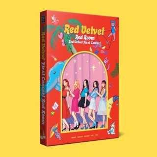 Red Velvet 1st Concert Red Room Photobook + Pet Bookmark