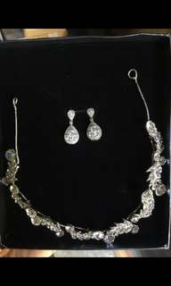 Earrings and Headdress