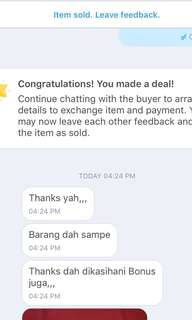 We are trusted.. thanks for buying